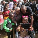 President Kenyatta, First Lady host Christmas party for children