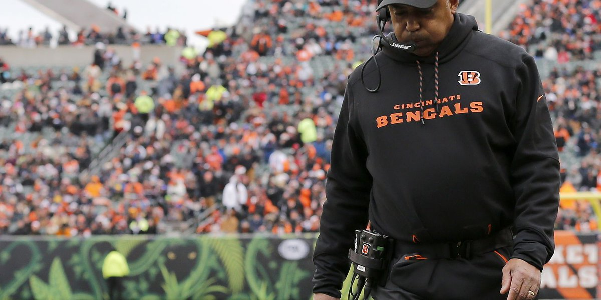 Marvin Lewis surprises Bengals by opting not to return in 2018