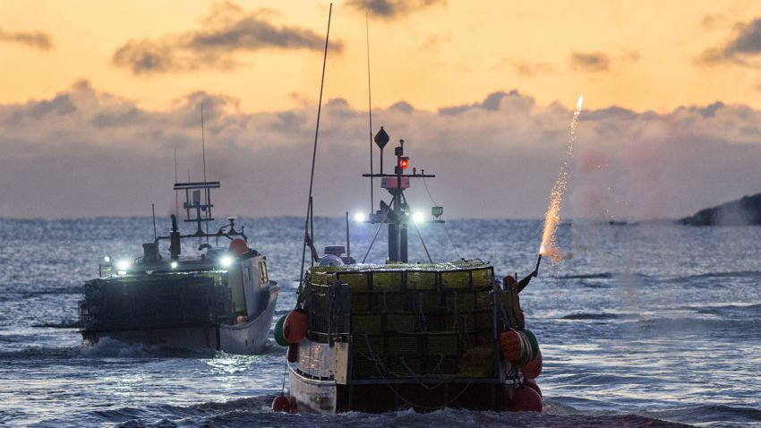 A new trade deal between Canada and Europe could leave American lobstermen out at sea