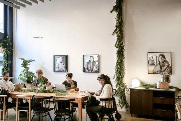 Stumptown Coffee Roasters debuts artist fellowship program with Wendy Red Star exhibit
