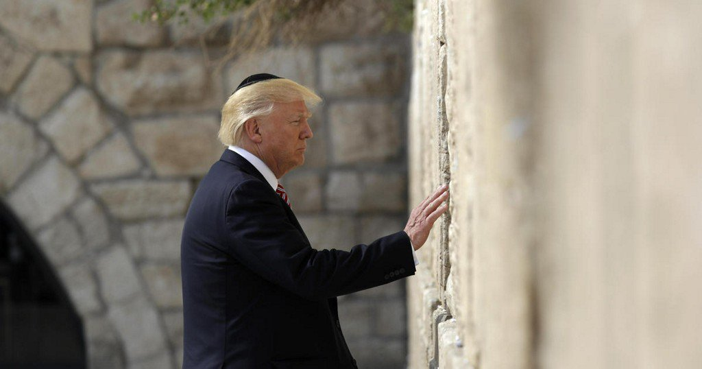 White House expects Western Wall to be part of Israel