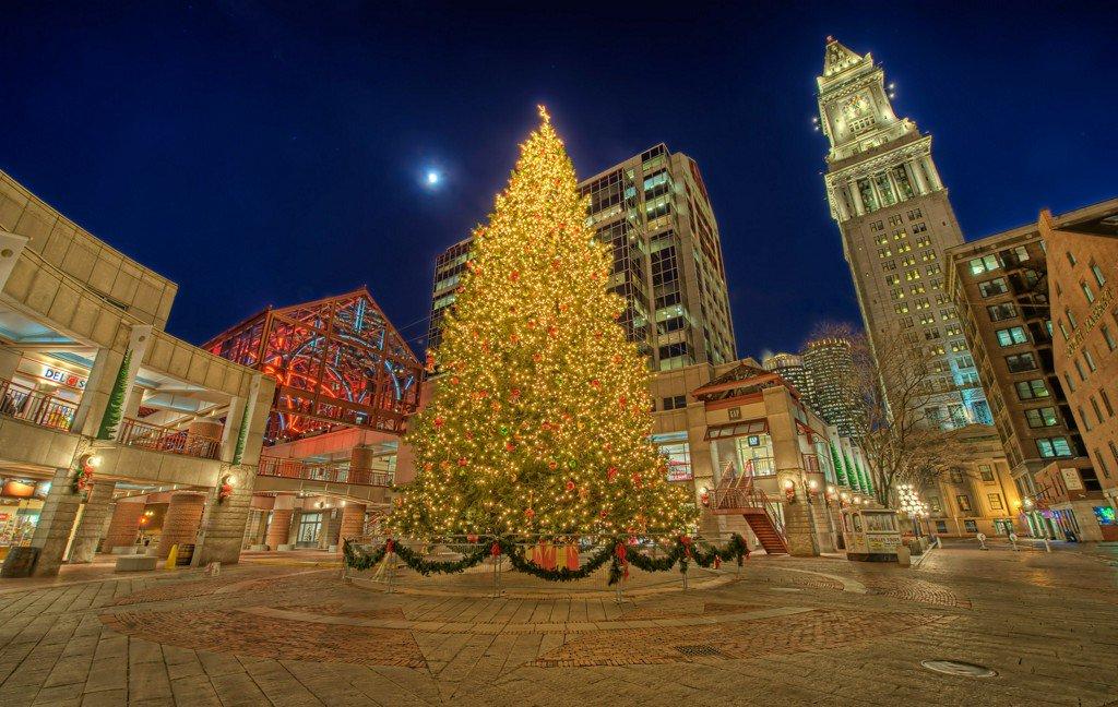 Dazzling Christmas trees around the U.S.