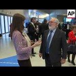 EU's top climate official comments on Paris summit