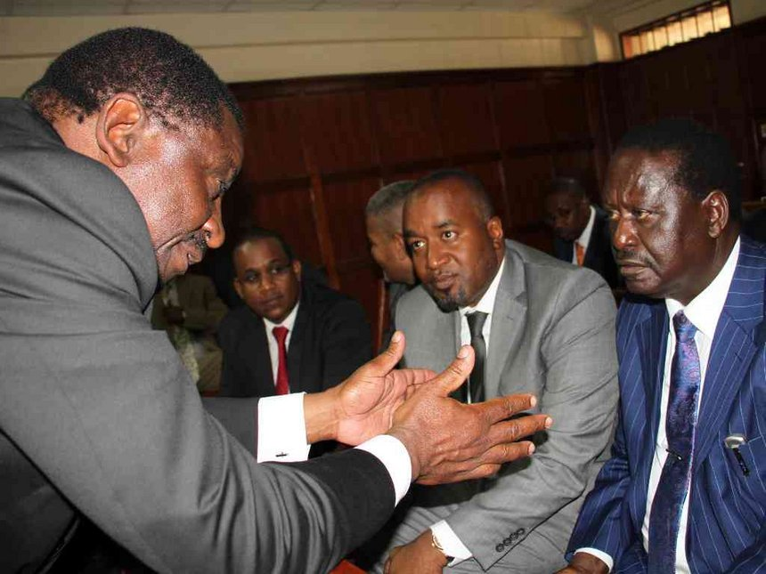 Don't back down on State House quest, Orengo tells Raila