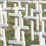 Crosses count 199 St. Louis murders in2017