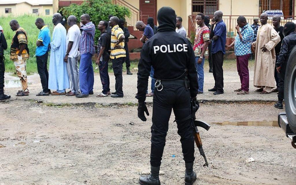 Gabon arrests dozens after stabbing over Trump Jerusalem move