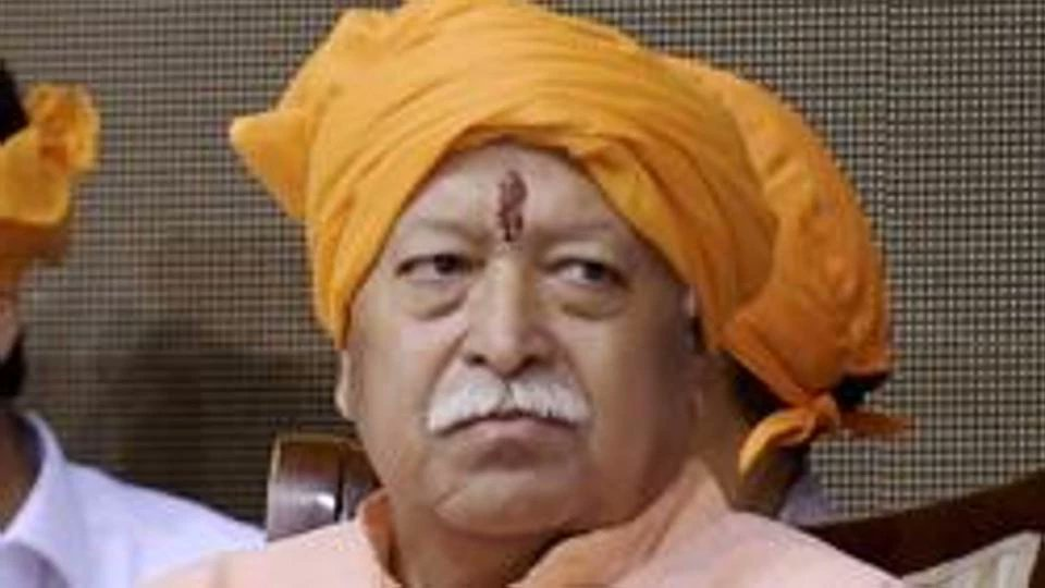 RSS chief Mohan Bhagwat visits Tripura, says anybody living in India is Hindu