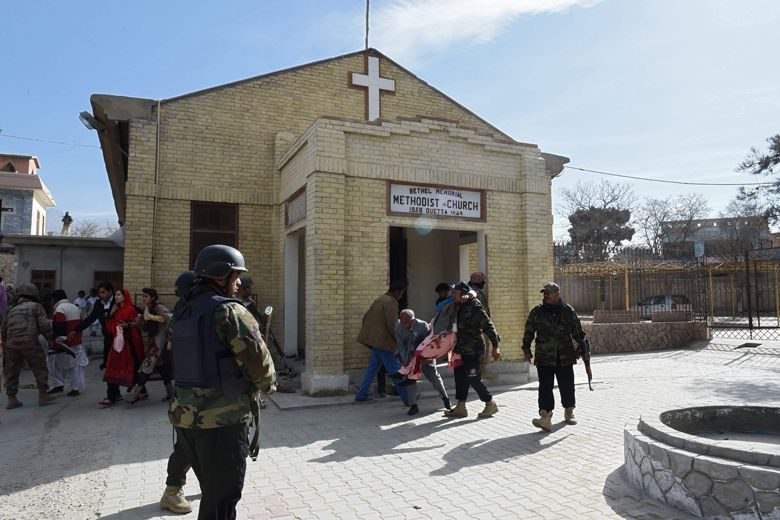 ISIS claims pre-Christmas suicide bombing of Pakistan church, eight dead