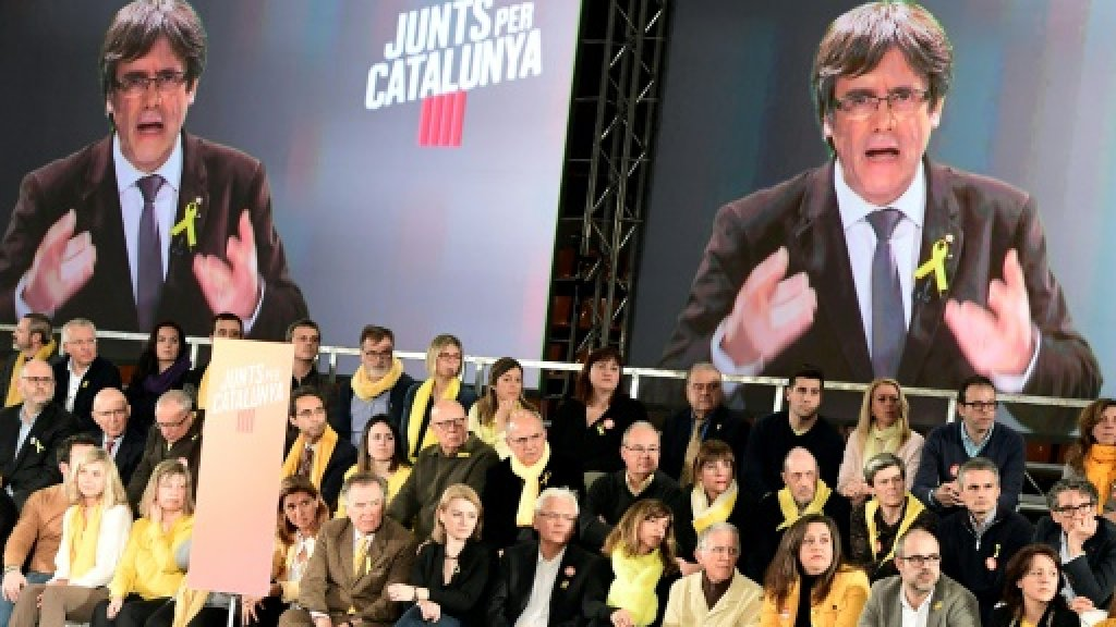 From Belgium and jail with love: the surreal Catalan campaign