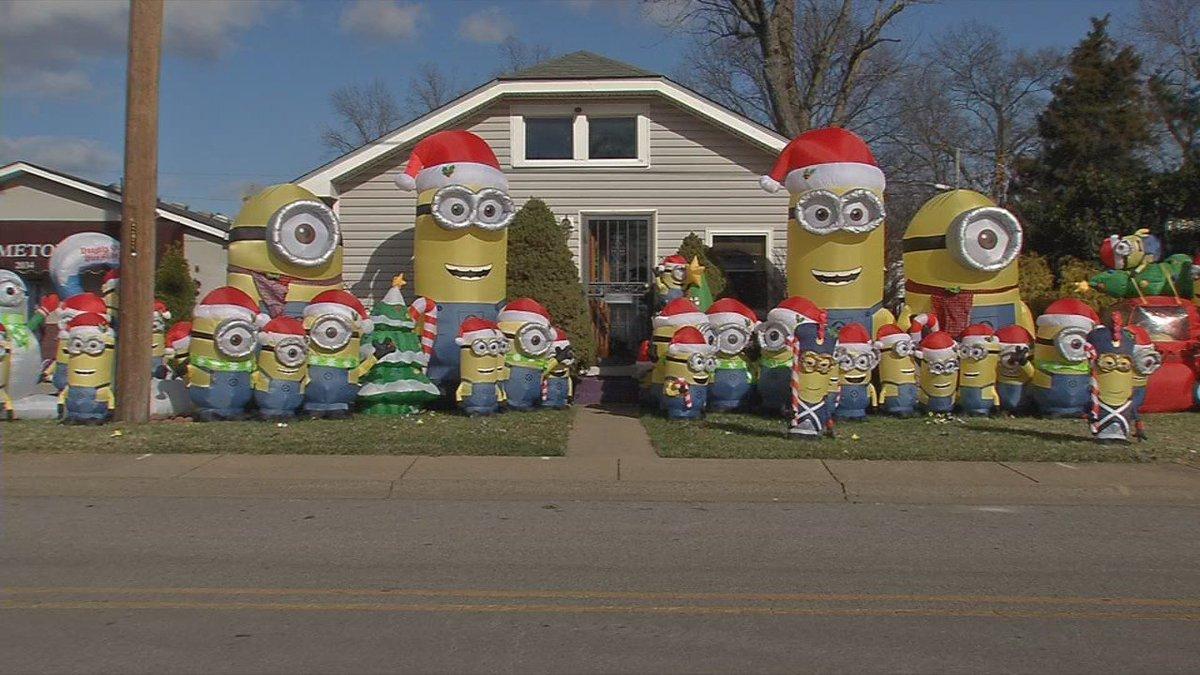 Southern Indiana Minion display goes viral