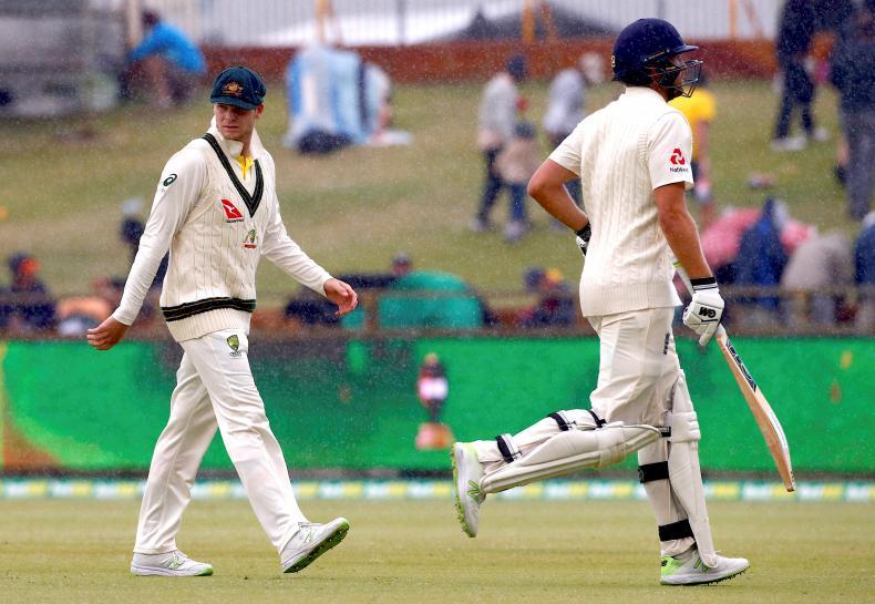 England pray for rain as Australia sniff Ashes win