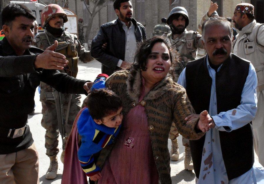 Suicide bombers attack Pakistani church before Christmas, killing nine