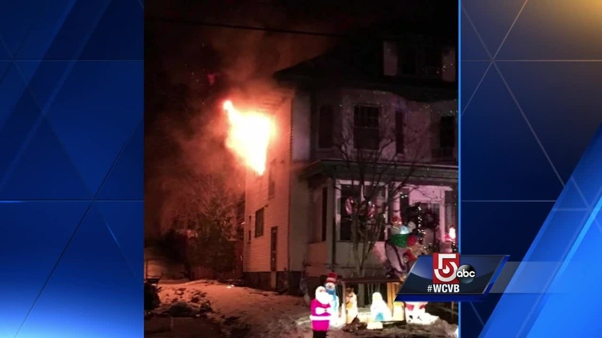 Family displaced after fire tears through Haverhill home