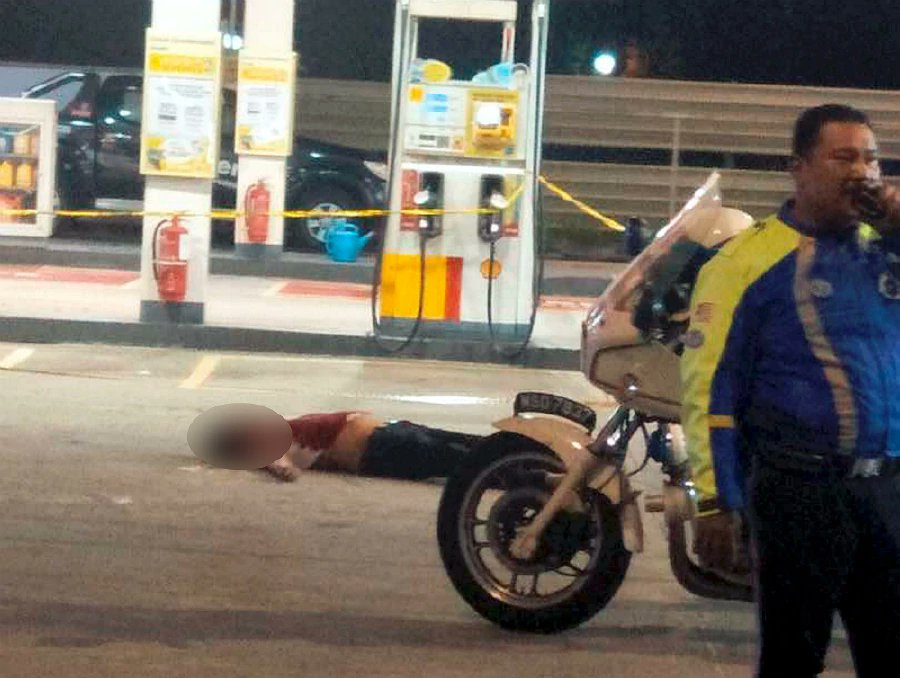 Stabbed, run down twice: Murder at JB petrol station captured on video