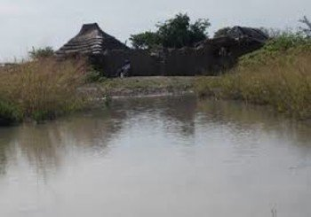 Floods affect farms in Ajuet County, Aweil state