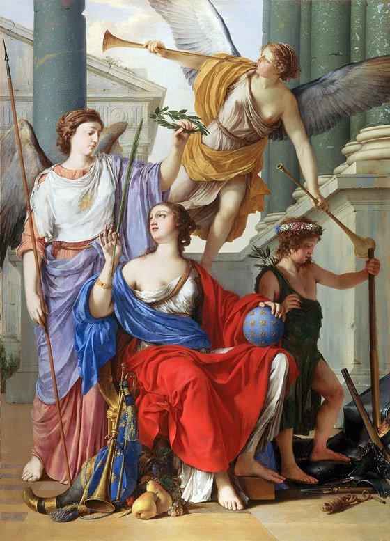 Alegoría de la regencia de Ana de Austria