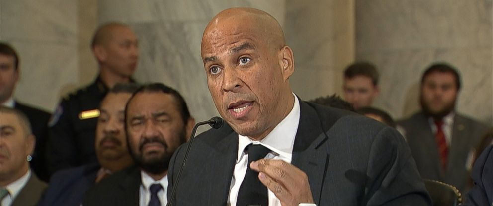 Police beef up Sen. Cory Booker's security following death threat.