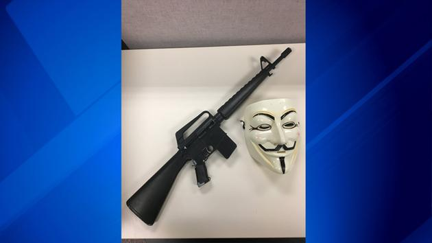 Police: Mundelein teen wearing mask pointed replica rifle at vehicles