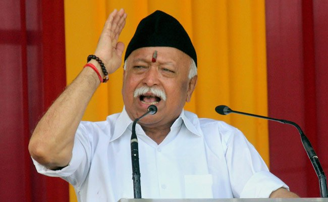Anybody Living In India Is Hindu, Says RSS Chief Mohan Bhagwat