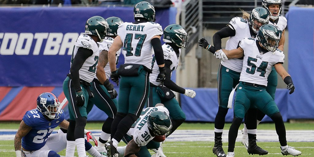 Philadelphia Eagles clinch fir philadelphia eagles