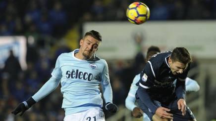 Atalanta-Lazio 3-3, doppiette di Ilicic e Milinkovic