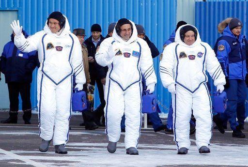 3 astronauts blast off for International Space Station - | WBTV Charlotte