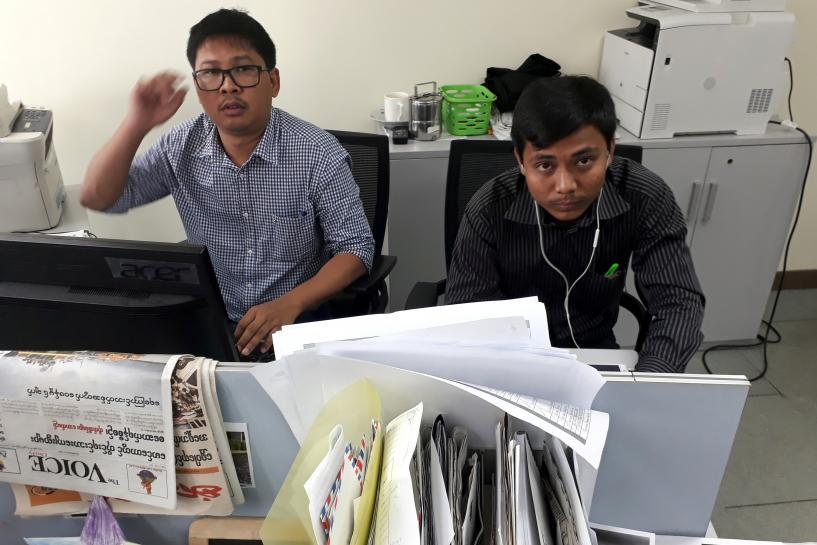 Factbox: International reaction to arrest of Reuters reporters in Myanmar