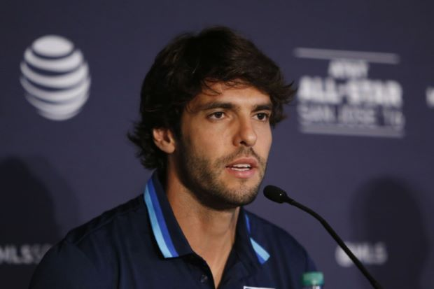 Brazilian midfielder Kaka retires at age 35