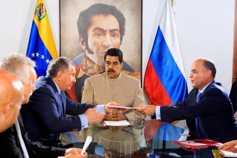 Venezuela gives Russia's Rosneft gas field concessions: Rosneft