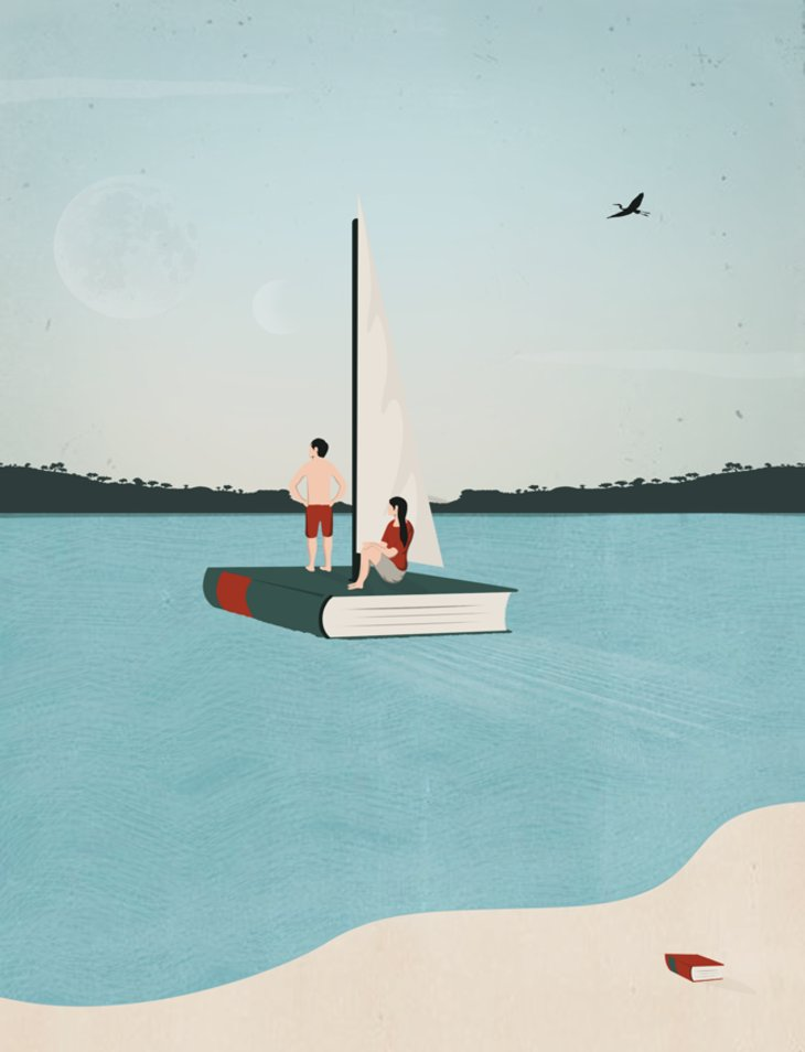 RT @hitRECord: BRB ⛵????  https://t.co/YFB1nkQgbj https://t.co/R8iEhCle0Z