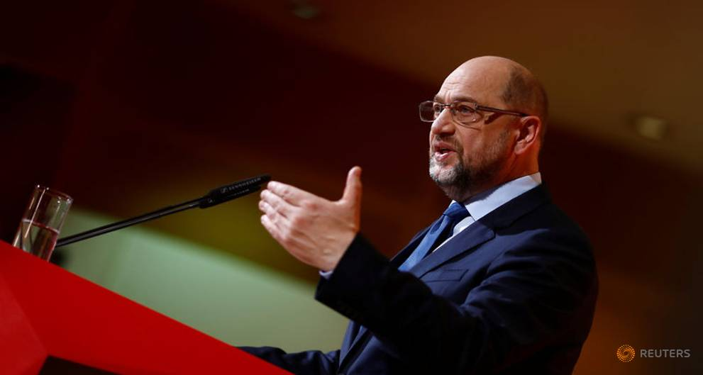 SPD leader wants Merkel to relinquish finance ministry - Handelsblatt