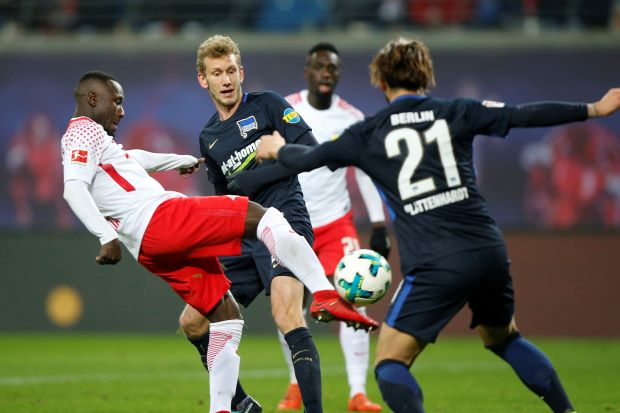 Hertha stun hosts Leipzig as Bundesliga breaks for winter