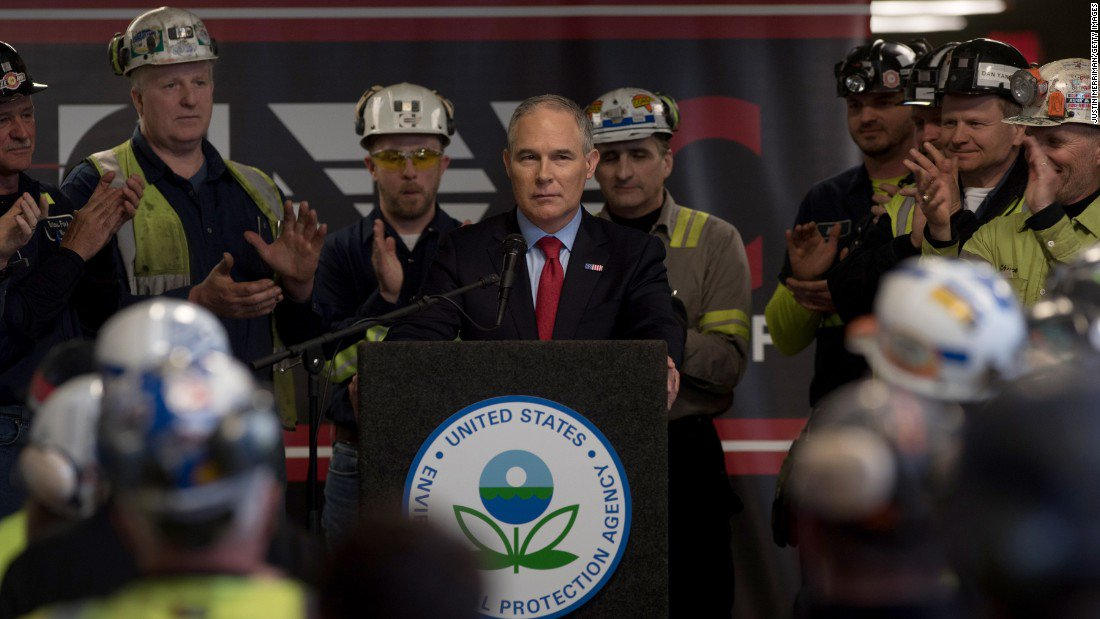 Environmental Protection Agency cuts could risk a public health emergency