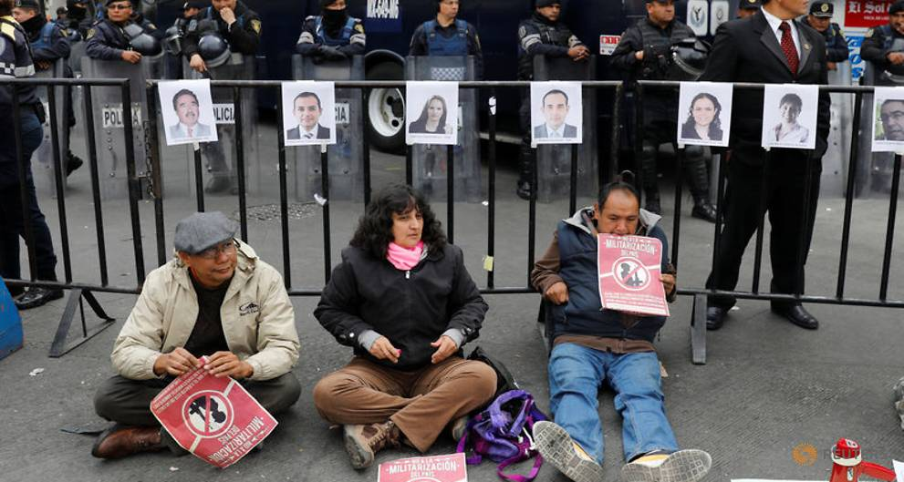 Mexican human rights group mulls legal action against security law