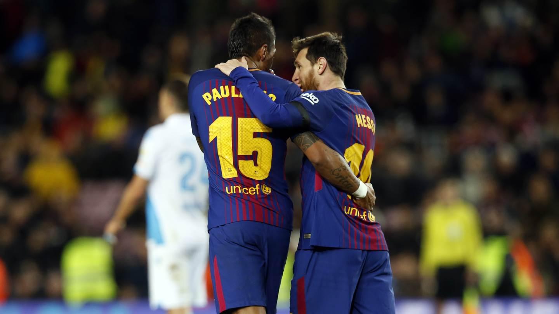 �� Comença la segona part al Camp Nou ⚽️ #BarçaDepor (2-0) ���� #ForçaBarça https://t.co/BC23lpLt84