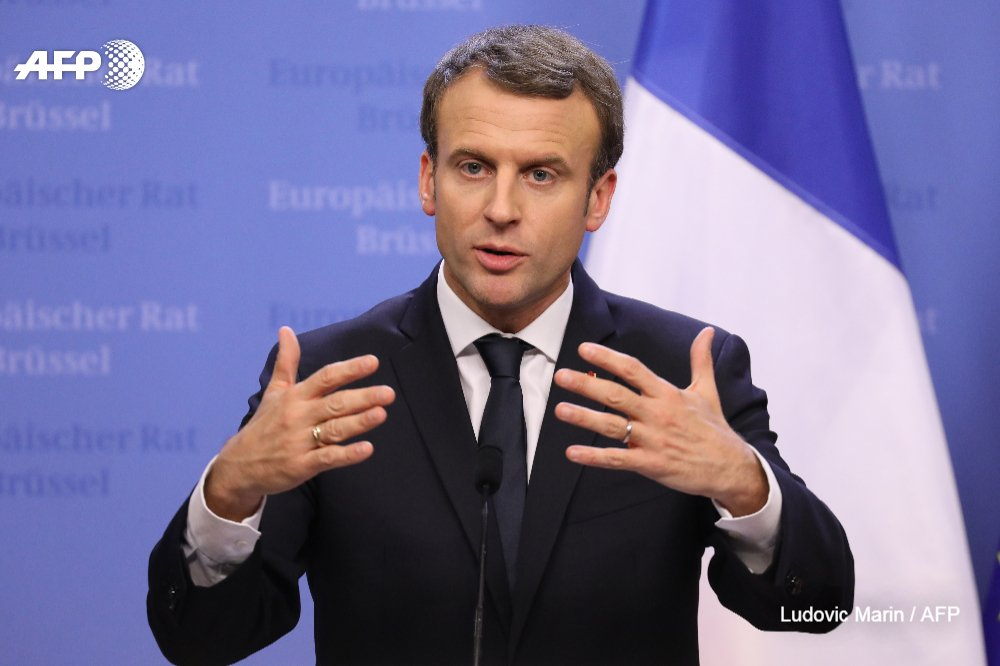 War against IS in Syria will be won by February: France's Macron