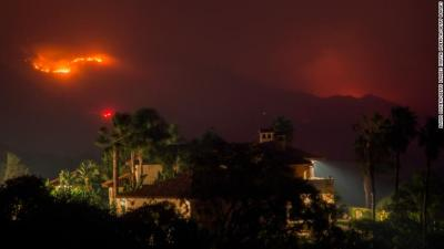 California fire: Resident says neighborhood looks like 'war zone'