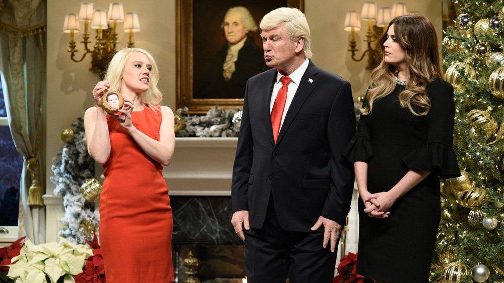 SNL: Alec Baldwin's Donald Trump says 'the war on Christmas is over'