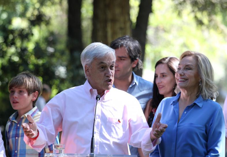 Chilean conservative Pinera seen winning presidency: media forecast