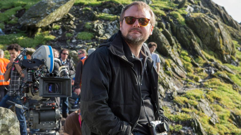 Writer and director @RianJohnson discusses completing #TheLastJedi's journey. https://t.co/P944PhOEC5 https://t.co/hb9zLGq5pY
