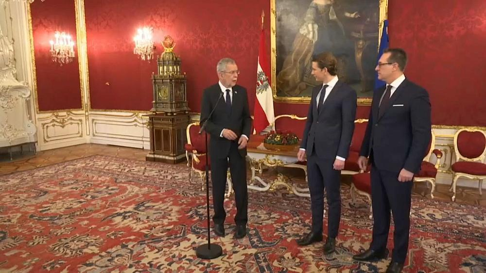 Austria's new government to be sworn in after controversial deal with far-right