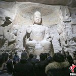 3D printed Buddhist statues displayed in east China
