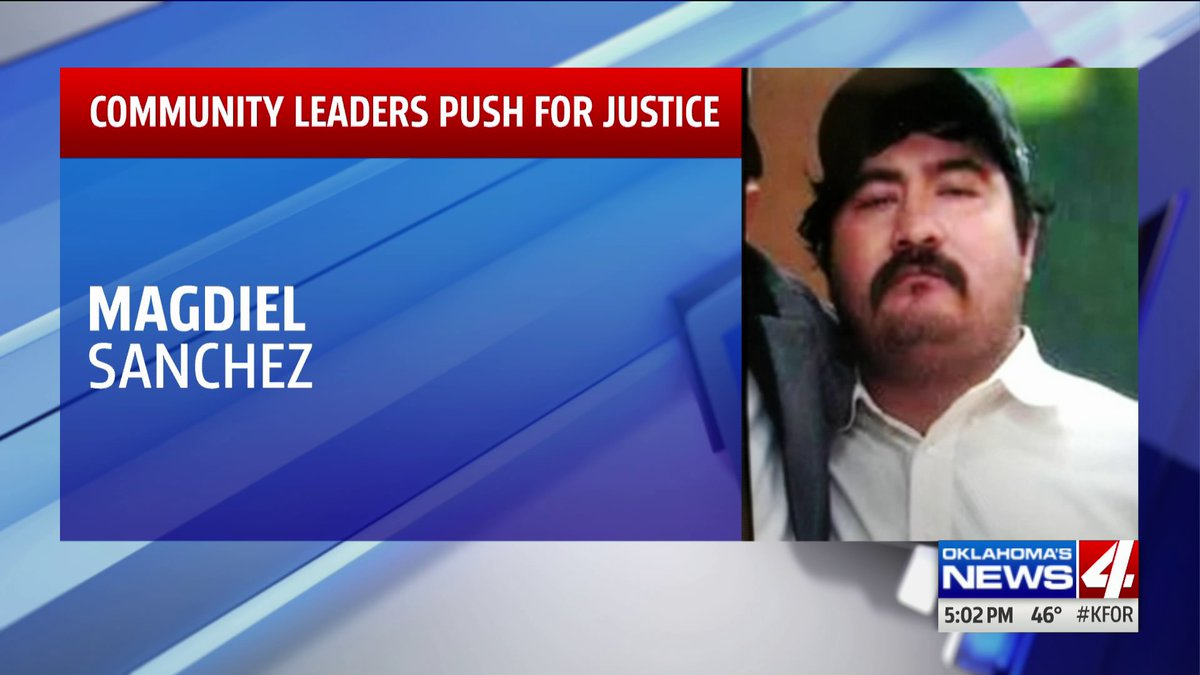 Activists rally for justice in shooting death of deaf man by Oklahoma City police officer