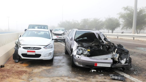 Drive safe on rainy roads in the UAE