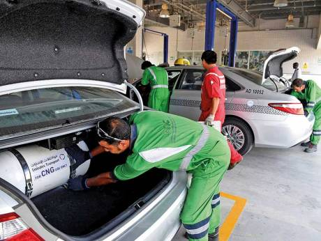 Abu Dhabi speeds CNG conversions for vehicles