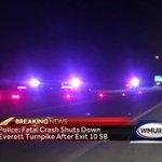 Fatal crash closes Everett Turnpike southbound in Merrimack