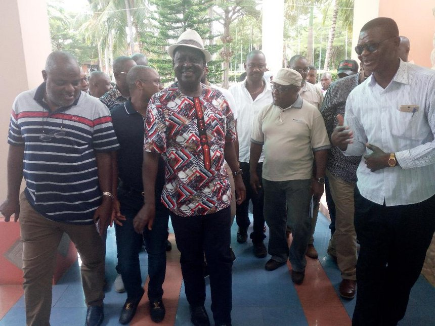 Raila: I will carry the Bible, I must be sworn in