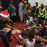 President Uhuru and First lady Margret Kenyatta host children from children homes