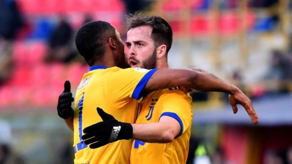 Pjanic stars as Juventus rise to second with win at Bologna