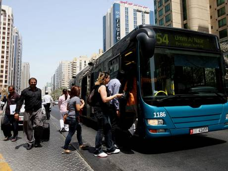 Using public buses made easy in Al Ain